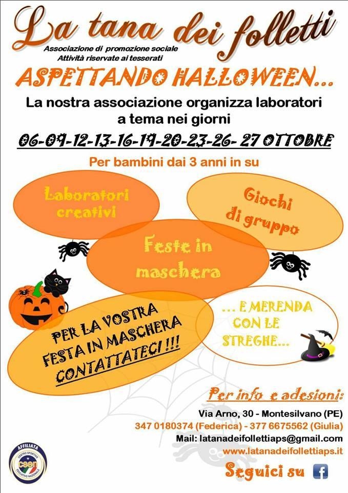 Preferenza Halloween 2017 in Abruzzo dove andare e cosa fare con i bambini  QY18