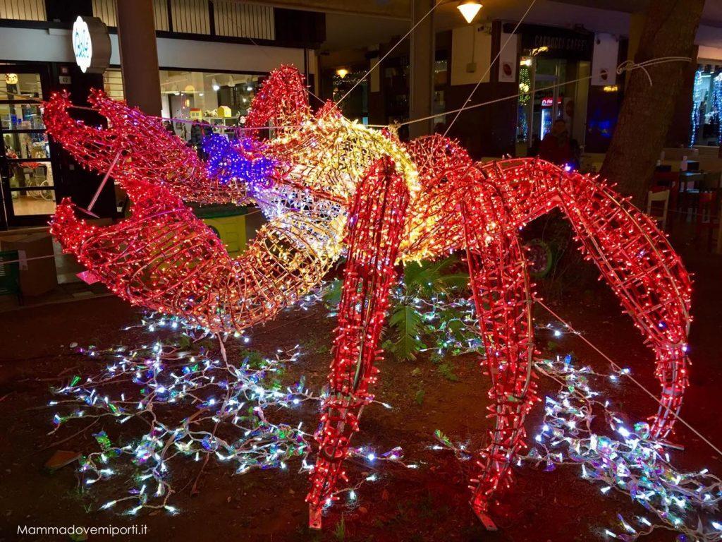 Luci d'artista Luminarie Pescara Natale 2017 - Piazza della Rinascita