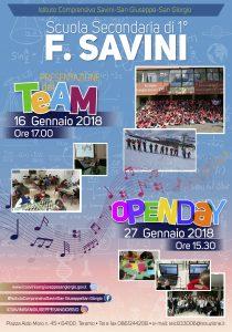 Open-Day-ISTITUTO-COMPRENSIVO-Savini-San-Giuseppe-San-Giorgio-Secondaria