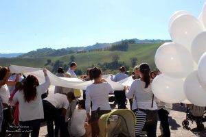 Flash Mob Allattamento 2015 Teramo