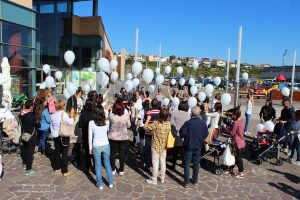 Flash Mob Allattamento Teramo 2015