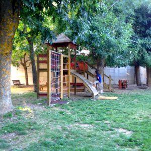Parco giochi a Santo Stefano di Sessanio