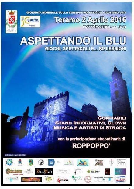 Giornata Mondiale della Consapevolezza sull'Autismo – 2 Aprile 2016 – Teramo | Mamma, dove mi porti? Abruzzo e dintorni