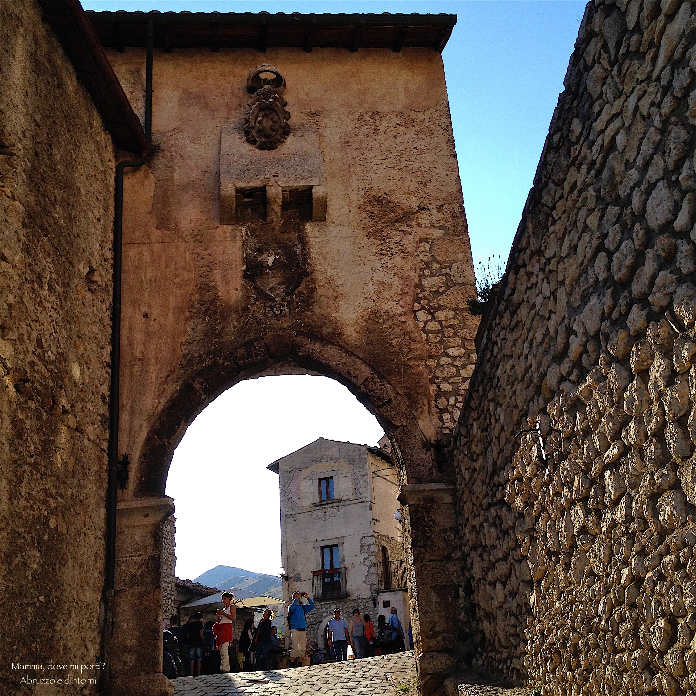 Porta Medice a Santo Stefano di Sessanio
