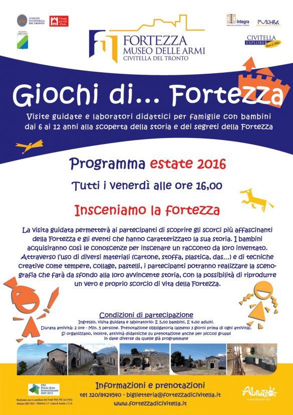 Eventi per famiglie in Abruzzo weekend 15 – 17 luglio 2016 | Mamma dove mi porti? Abruzzo e dintorni