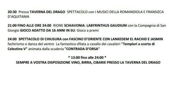 Notte Templare, va in scena il Medioevo a Pratola Peligna (Aq) | Mamma dove mi porti? Abruzzo e dintorni