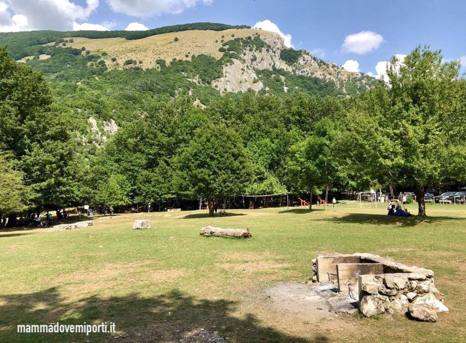 Area attrezzata per Picnic La Camosciara