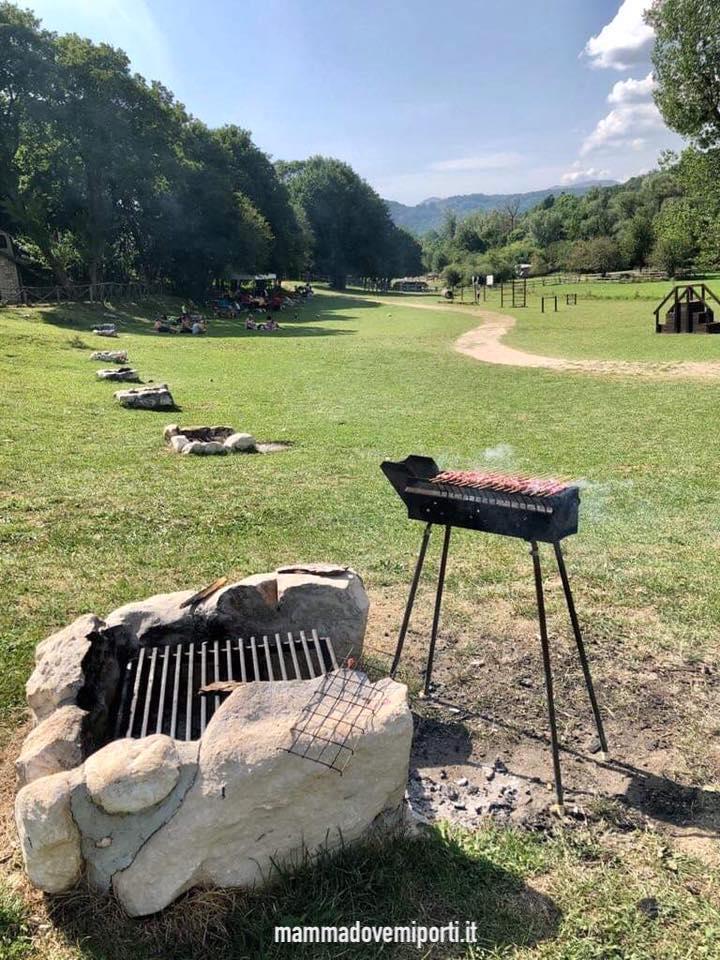 Area attrezzata per picnic Val Fondillo