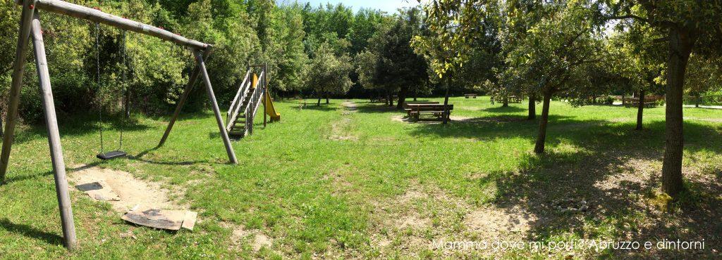 Parco Giochi e area attrezzata Ripe di Civitella del Tronto - Teramo