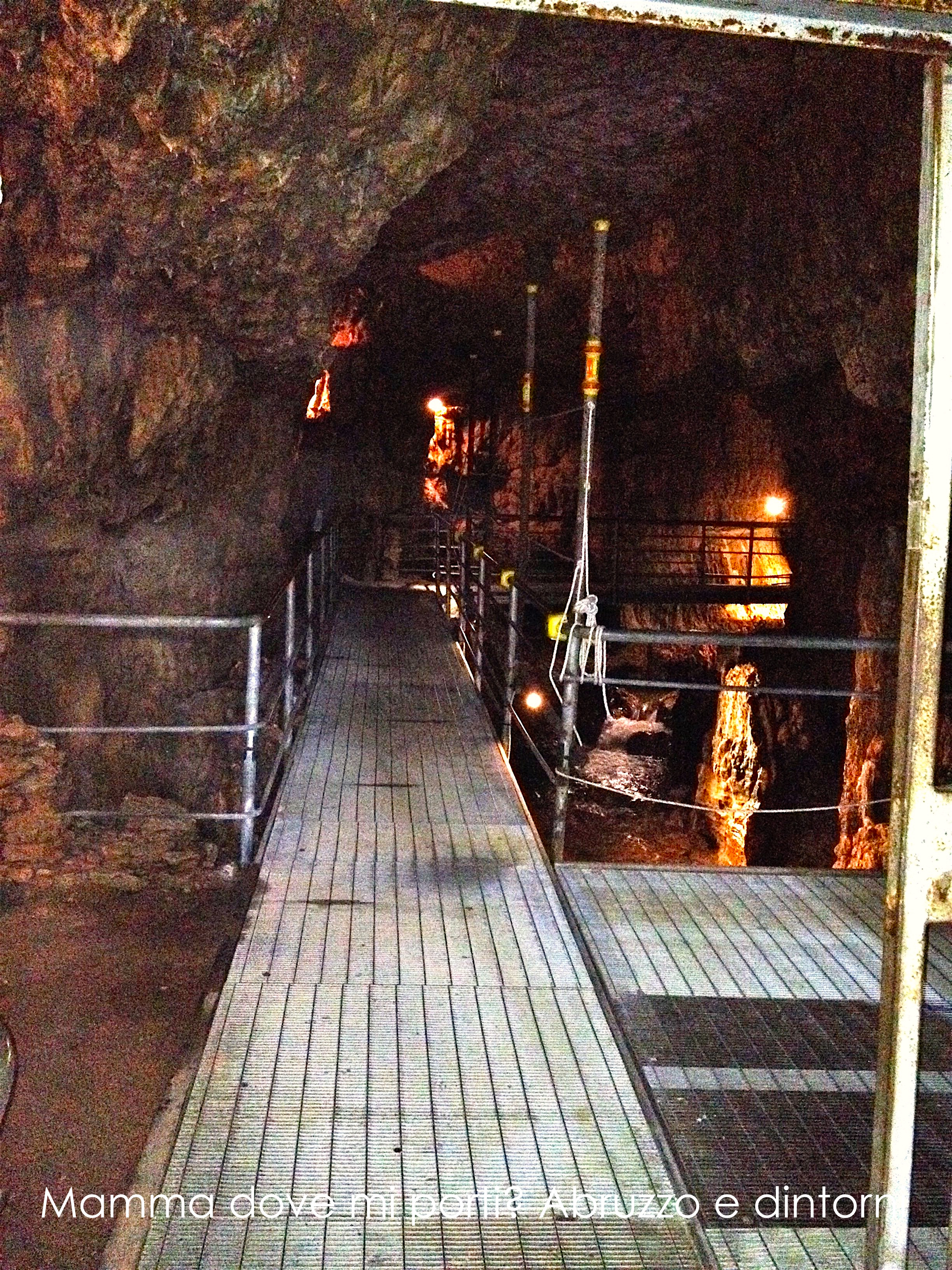 Grotte di Stiffe - Ingresso - San Demetrio ne' Vestini (AQ)