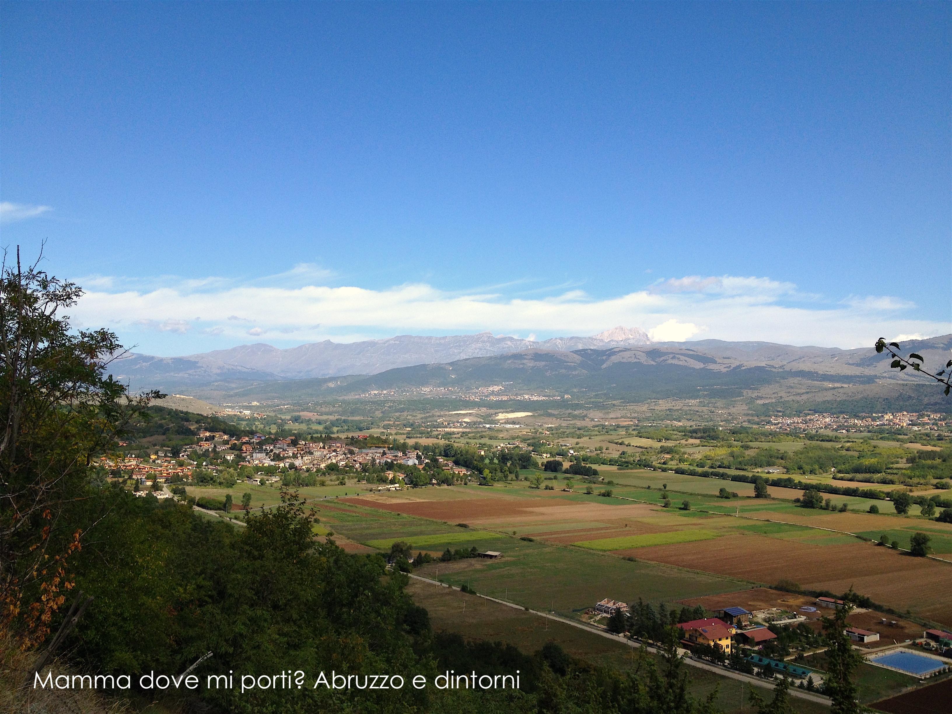 Grotte di Stiffe - Panorama - San Demetrio ne' Vestini (AQ)