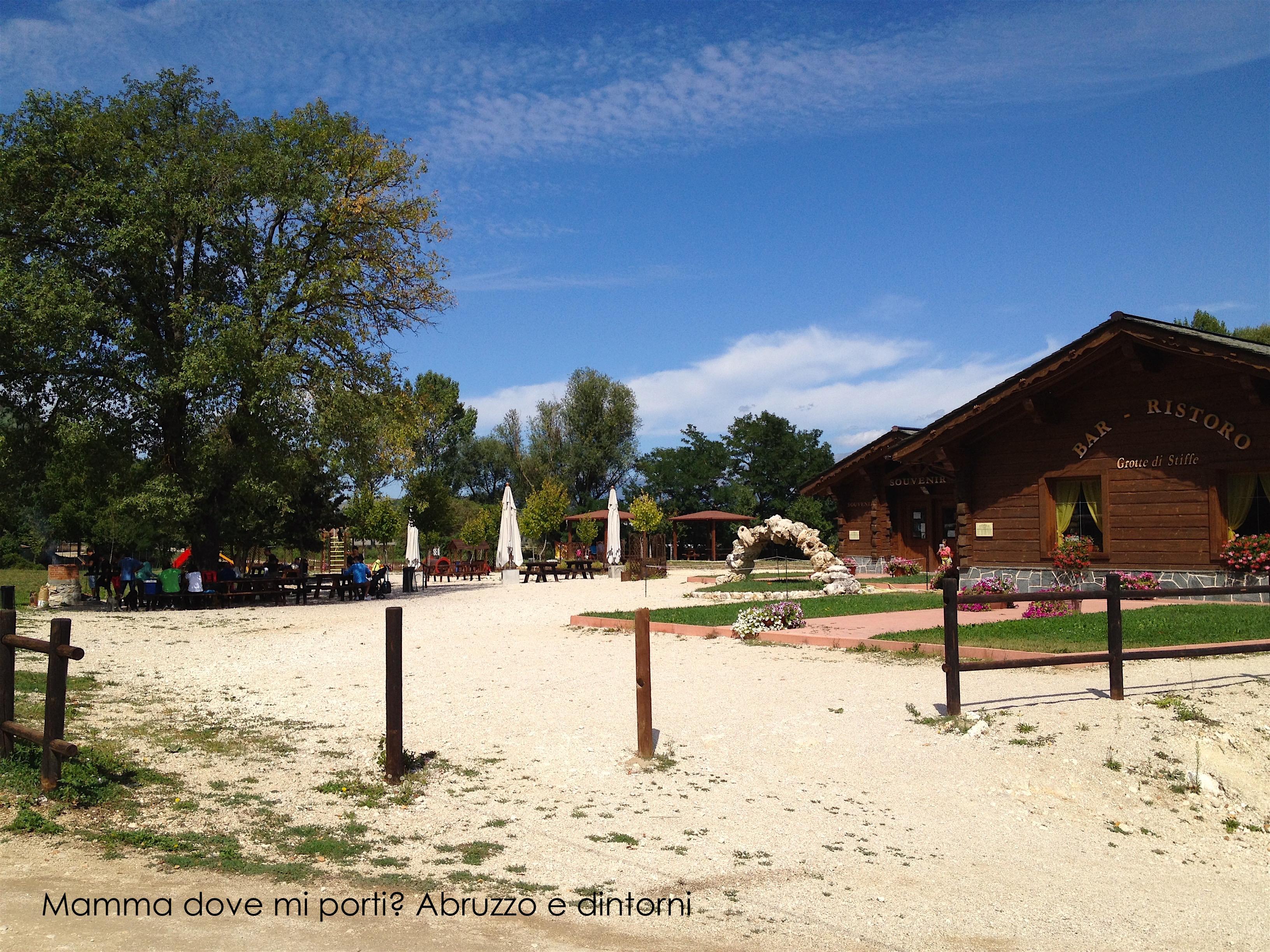 Grotte di Stiffe - Biglietteria e area barbecue - San Demetrio ne' Vestini (AQ)
