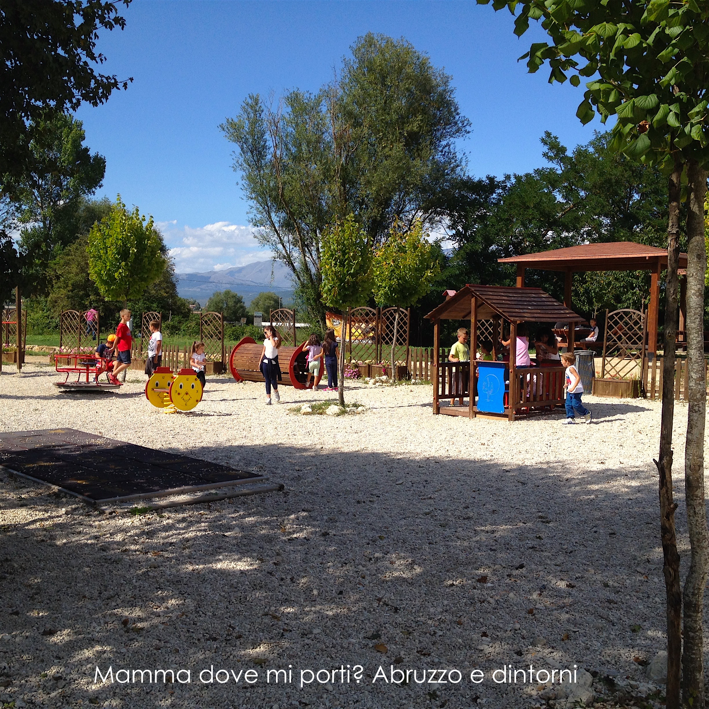 Grotte di Stiffe - Area parco giochi - San Demetrio ne' Vestini (AQ)