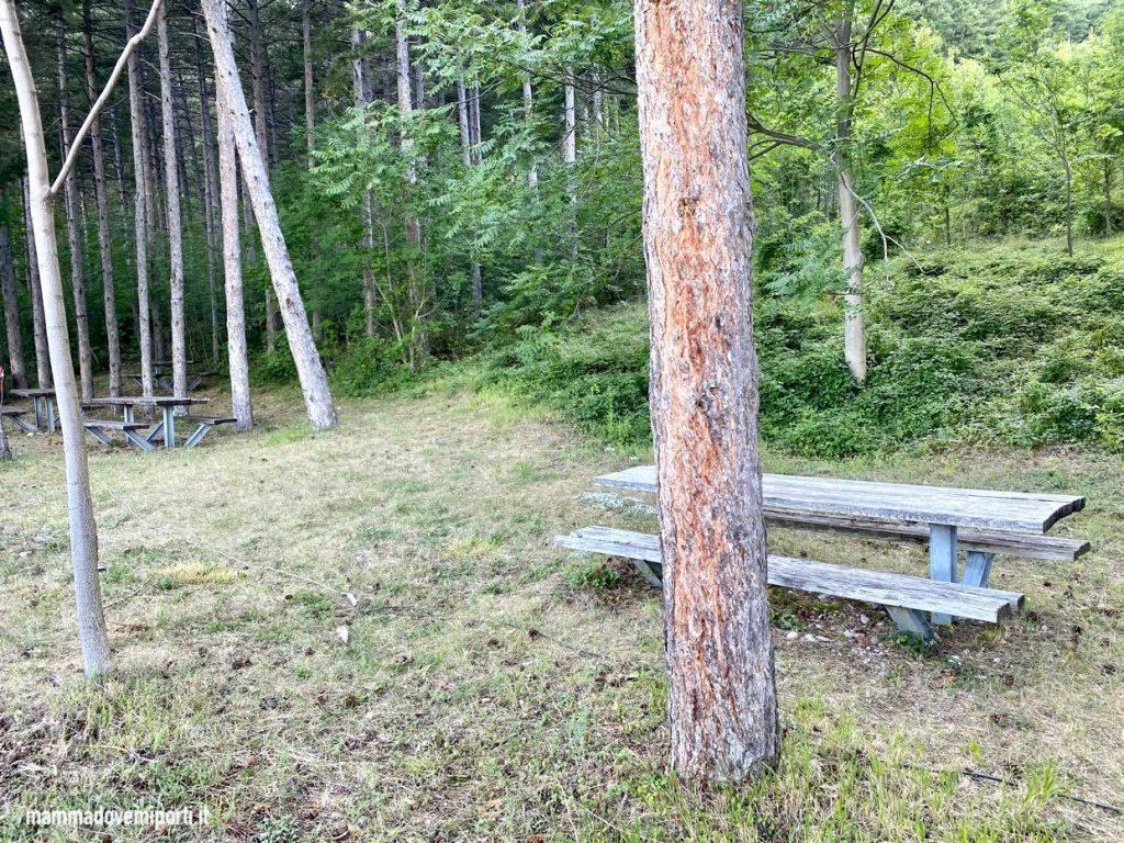 Area picnic Lama dei Peligni