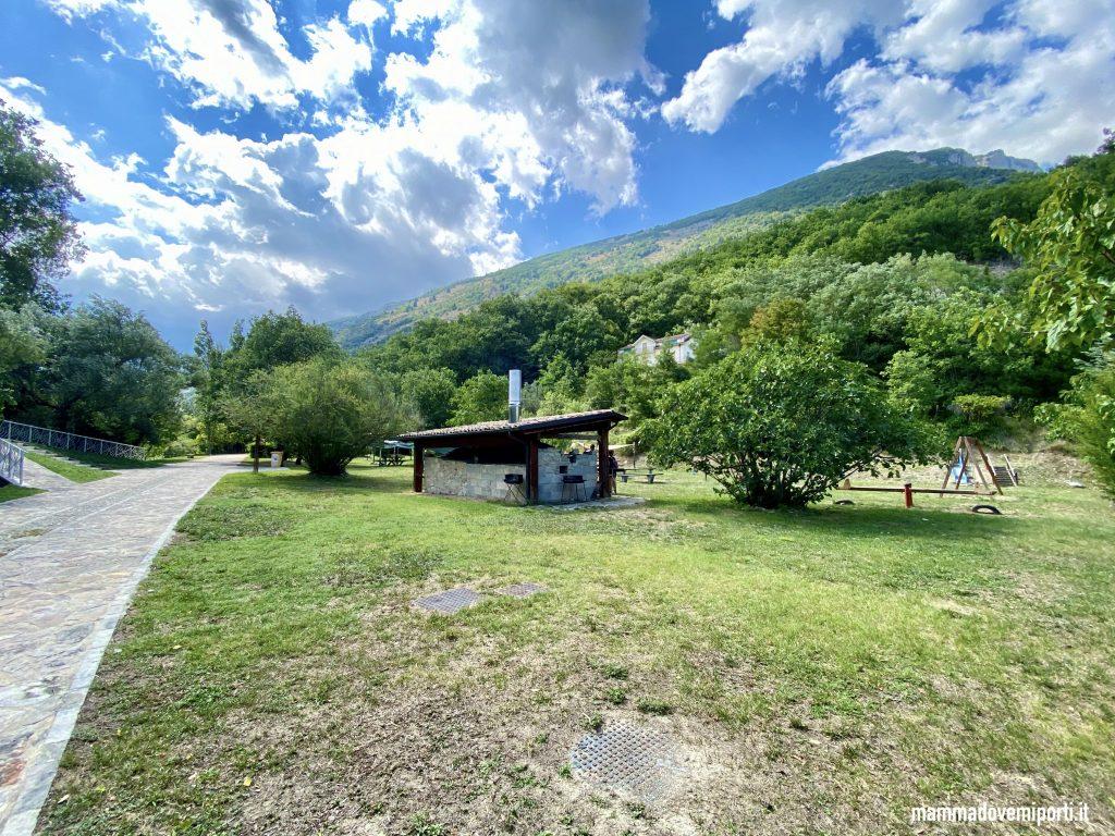 Area Picnic Parco Fluviale delle Acquevive a Taranta Peligna