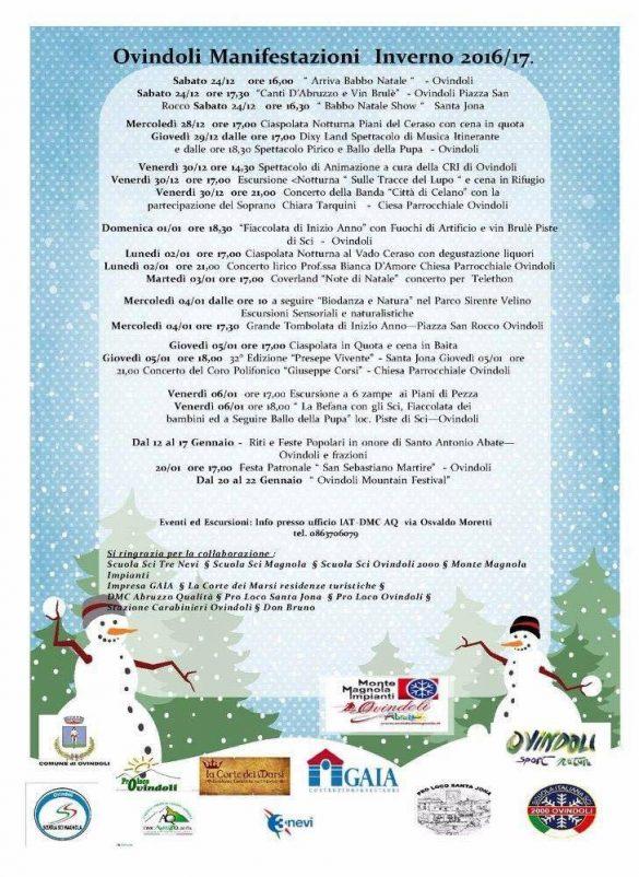 Eventi per famiglie in Abruzzo dal 6 all'8 gennaio 2017