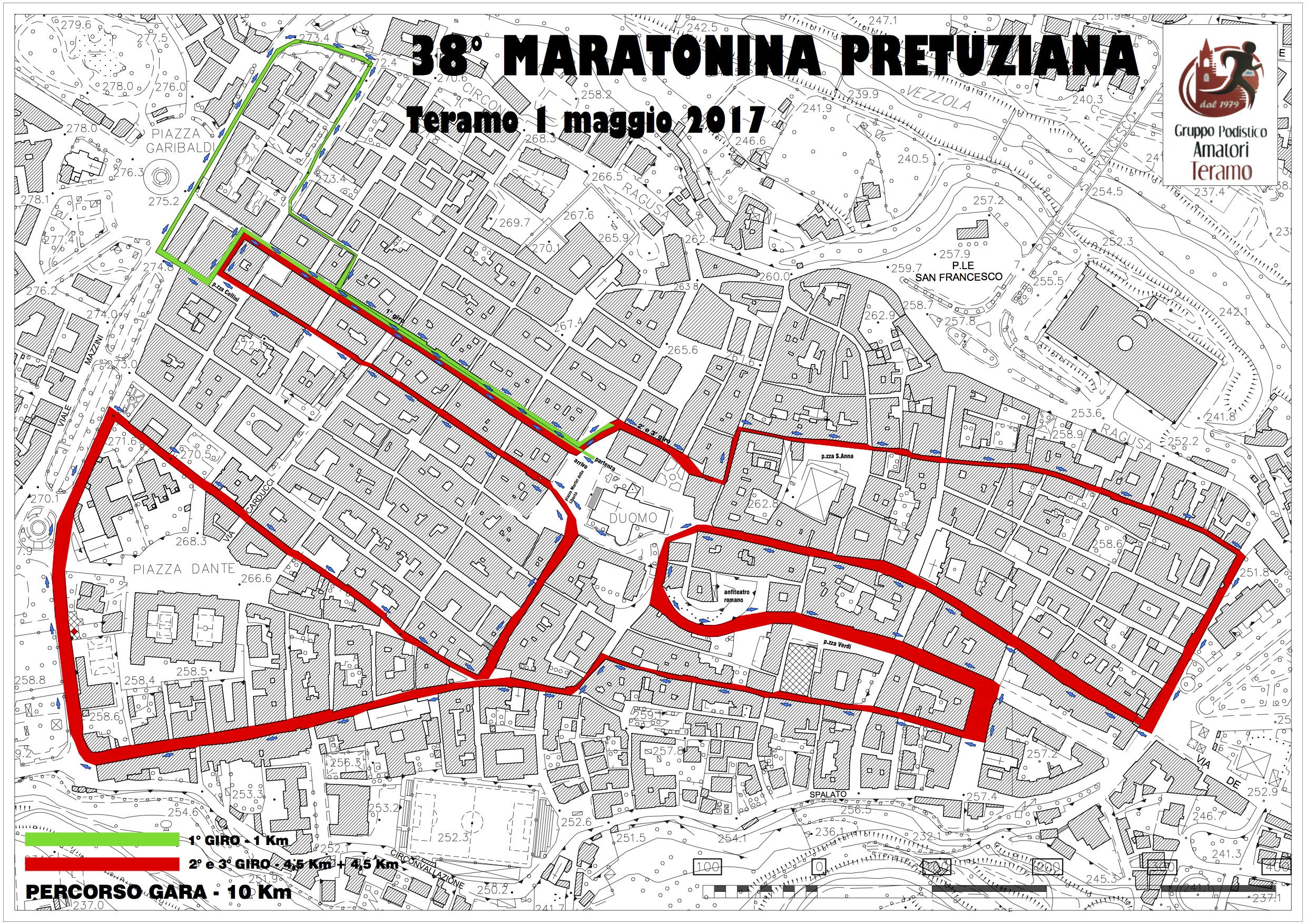 Percorso Maratonina