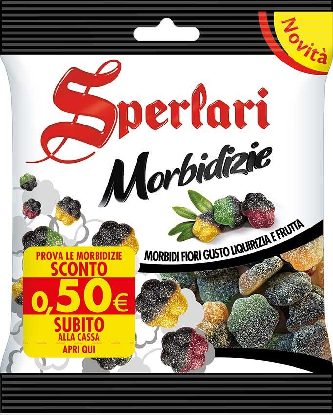 Sperlari Morbidizie Morbidi Fiori di gusto Liquizia e Frutta