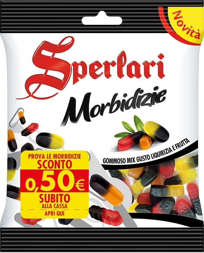 Sperlari Morbidizie Gommoso Mix gusto Liquirizia e Frutta