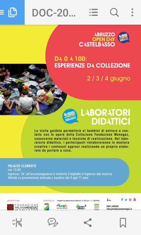 a3e32bfd39d5 ... Abruzzo Open Day Summer e non solo – Eventi per famiglie dal 27 maggio  al 4