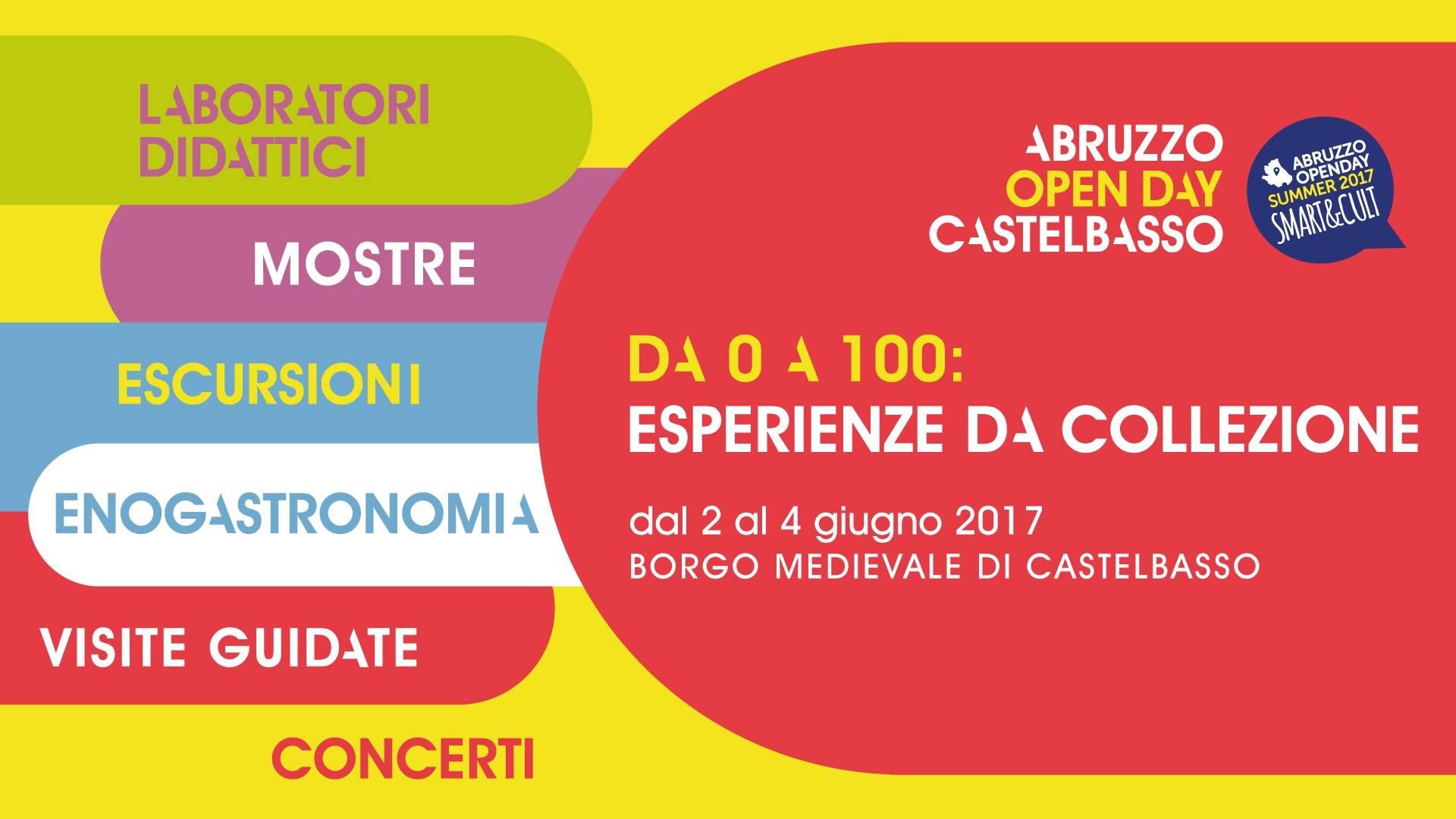 f7207793a6c6 Abruzzo Open Day Summer e non solo – Eventi per famiglie dal 27 maggio al 4  ...