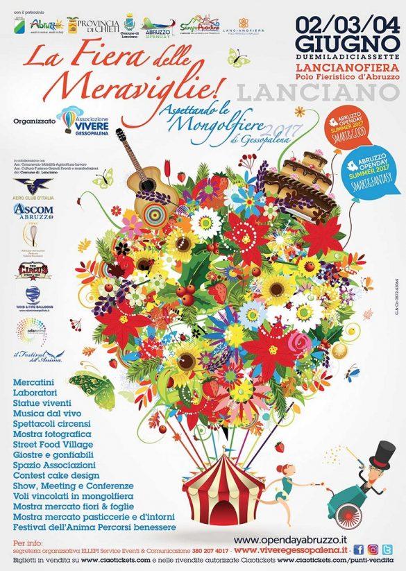 La Fiera delle Meraviglie dal 2 al 4 giugno a Lanciano (Ch) – Mamma dove mi porti? Abruzzo e dintorni