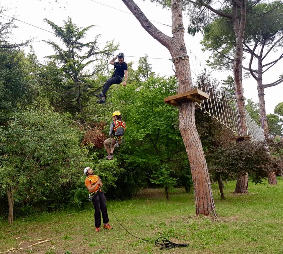 Adventure Park Cerrano Pineto - Teramo - Parco Avventura - Mamma dove mi porti?