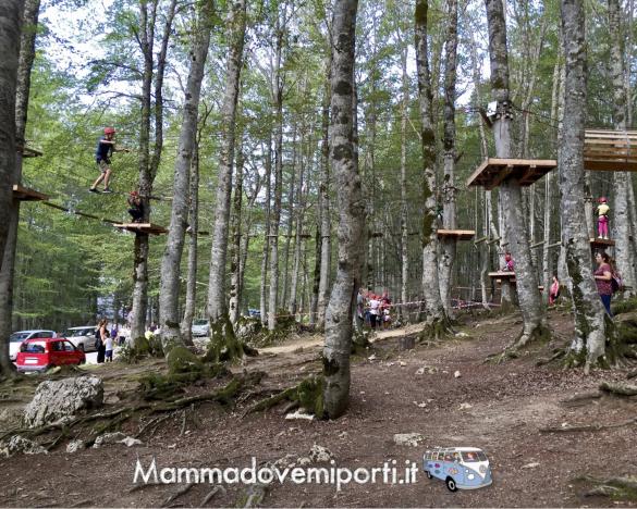 Adventure Park Prati di Tivo - Parco Avventura -Teramo - Mamma dove mi porti?