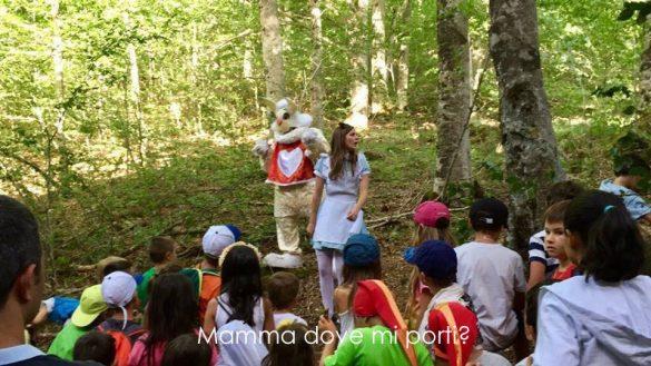 Alice nel Paese delle Meraviglie Teatro itinerante nel Bosco - Festa degli Gnomi