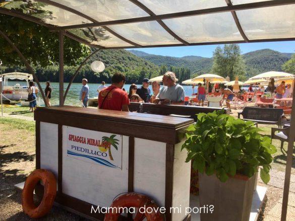 Approdo Battello Lago Piediluco Terni Umbria
