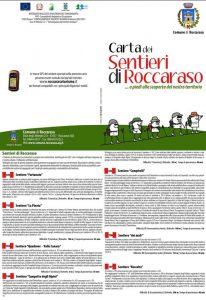 Carta Sentieri Roccaraso - Montagna con bambini Abruzzo