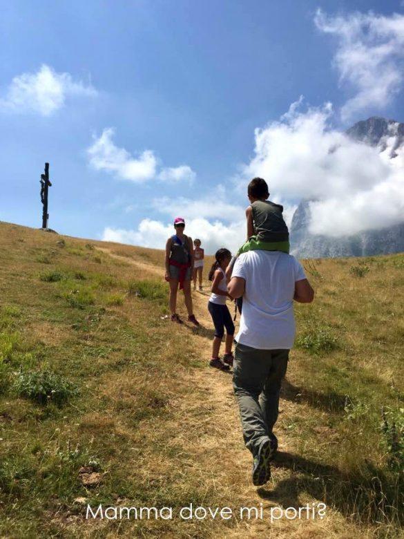 Escursione alla Croce Prati di Tivo