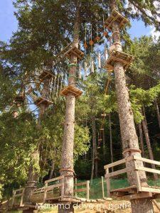 Parco Avventura Roccaraso Ombrellone - Montagna con bambini Abruzzo
