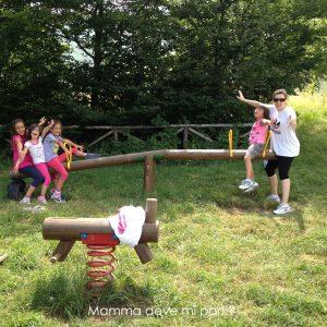 Parco Giochi nel bosco 2 Prati di Tivo