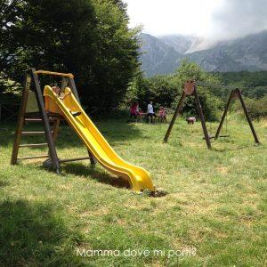 Parco Giochi nel bosco - Prati di Tivo