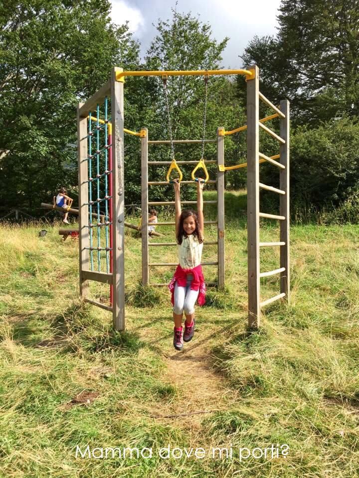 Parco Giochi nel bosco Prati di Tivo