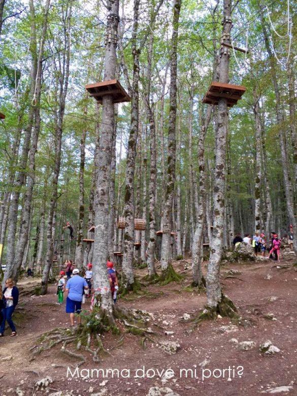 Parco avventura Prati di Tivo 2