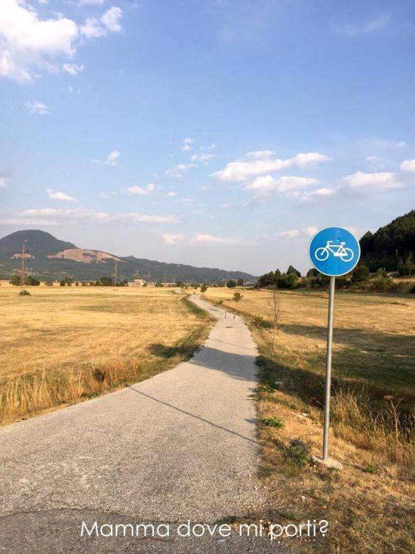 Pista Ciclabile Roccaraso - Montagna con bambini Abruzzo