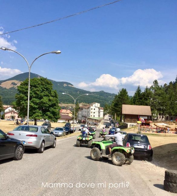 Quad Roccaraso - Montagna con bambini Abruzzo