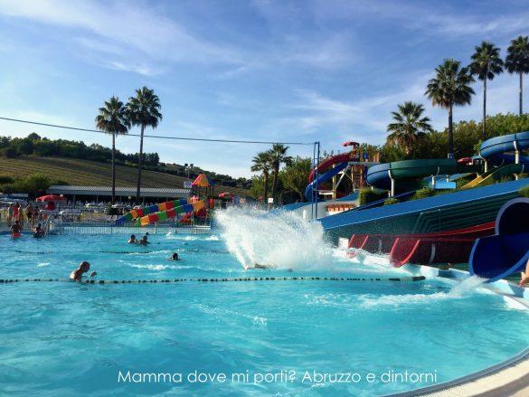 Scivoli 2 Aquapark Onda Blu Tortoreto