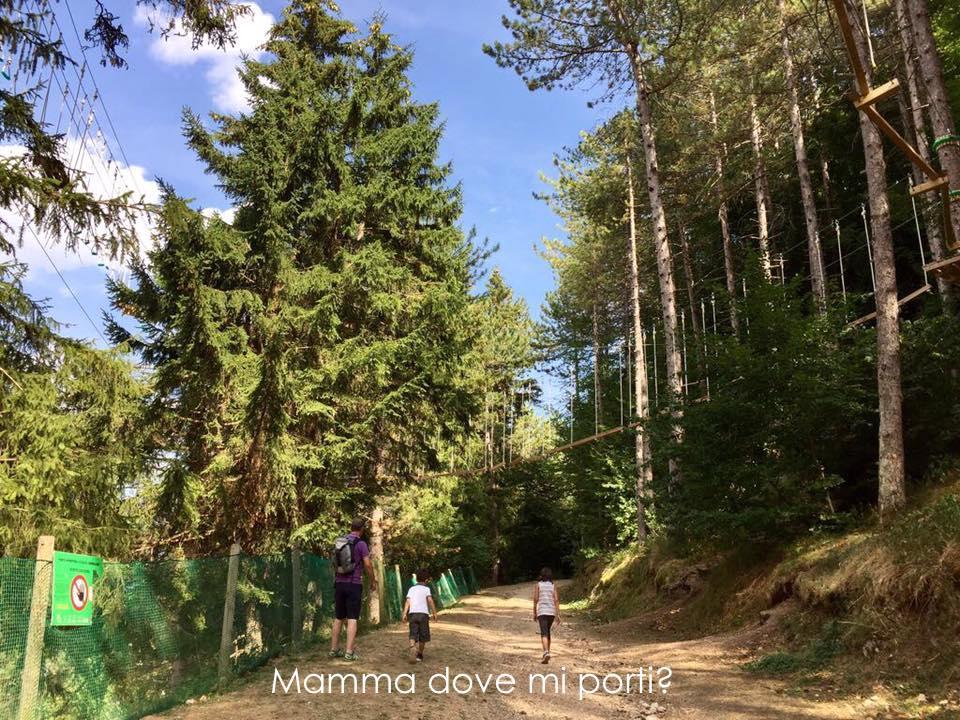 Sentieri Roccaraso - montagna con bambini Abruzzo
