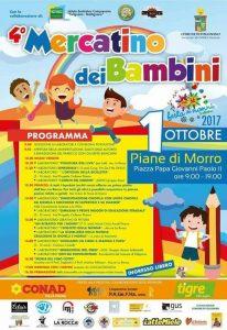 4 Mercatino dei Bambini Piane di Morro Folignano