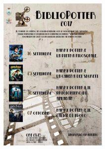 Bibliopotter proiezione Film Harry Potter a Pineto (Te) - Eventi per famiglie Abruzzo
