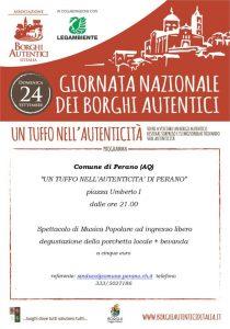 Giornata dei Borghi Autentici - Perano - L'Aquila
