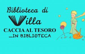 Caccia al Tesoro biblioteca di Villa - L'Aquila - Eventi per famiglie in Abruzzo