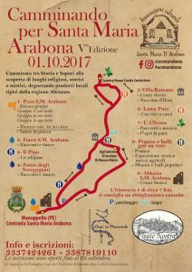 Camminando per Santa Maria Arabona - Manoppello - Pescara