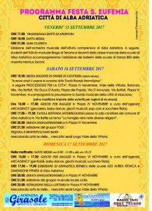 Festa Sant'Eufemia Alba Adriatica (Te) - Eventi per famiglie in Abruzzo