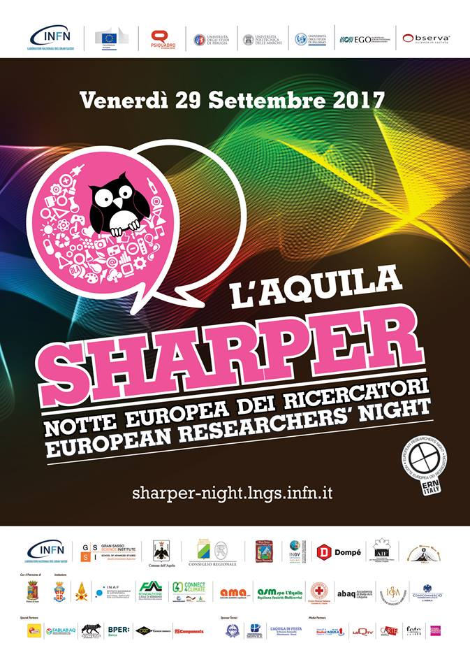 Sharper 2017 La Notte dei Ricercatori - L'Aquila