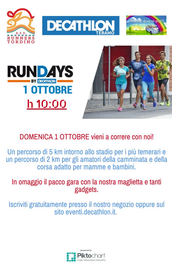 Rundays Decathlon Teramo - Eventi per famiglie in Abruzzo