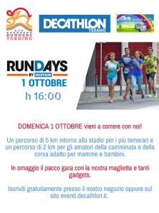 Runday Teramo 2017 - Eventi per famiglie